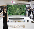LG seal OLED TV debut AWE panel thickness of only 2.57mm